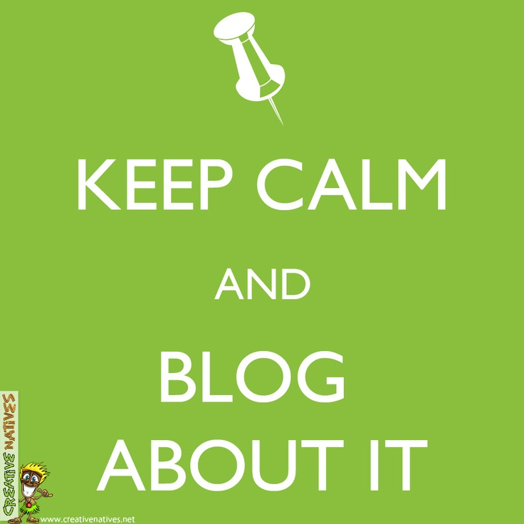 We are having lots of fun designing a new blog for one of our clients, so we thought we would just post this to brighten up your day... and maybe inspire you to start your own blog ;0)