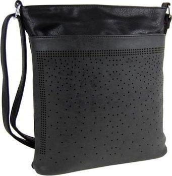 Elegantní malá dámská crossbody kabelka 5227 černá dle obrázku Tapple 5227 newb_3963