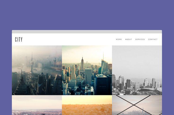 City - Minimal Portfolio by Minimal Themes on @creativemarket