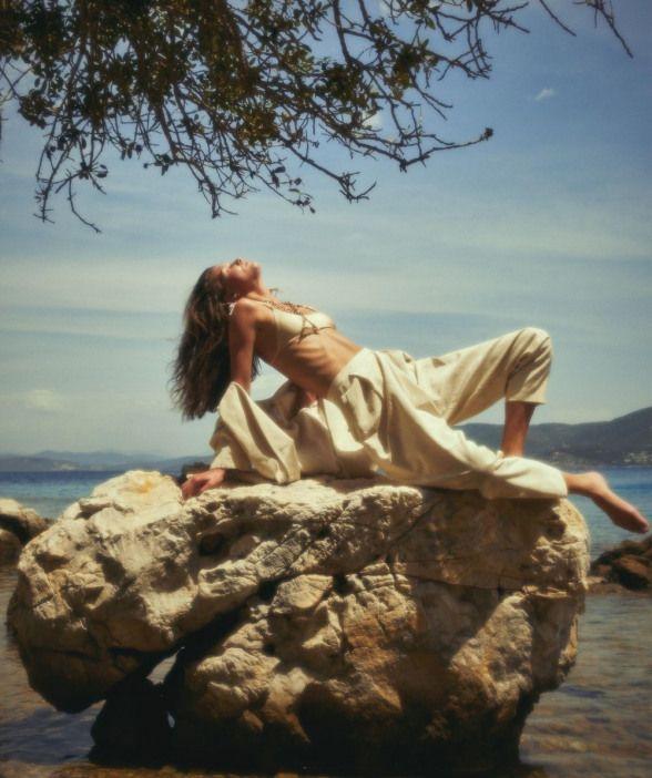StylistOguz Erel Latest Editorial for ELLE Turkey withHilal Ata by Emre  Unal #editorialphotography #editor… | Artistic fashion photography, Beach  photography, Photo