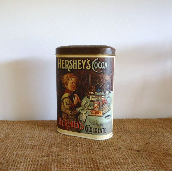 Hershey's Chocolate, Vintage Tin, Collectors Tins