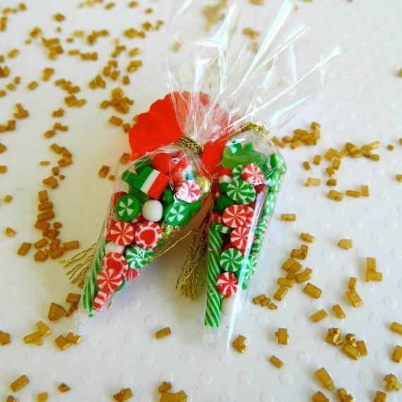 Sacchetti di caramelle di Natale in miniatura di LillipuceBoutique