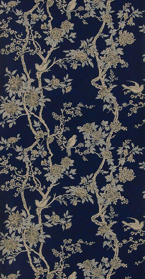 Marlowe Floral Prussian Blue från Ralph Lauren