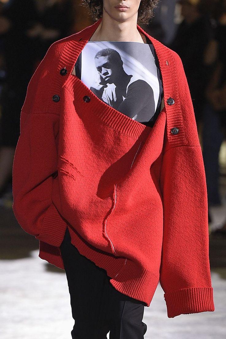 Visibly Interesting: Raf Simons Spring 2017 Menswear Fashion Show
