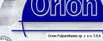 Pianki poliuretanowe - ORION Sp.z o.o.