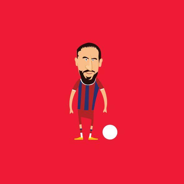 Ribery Illustration