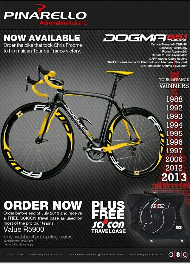 My heart.. Chris Froome's special make available for retail.. #Pinarello_SA #ASGsport winning♥