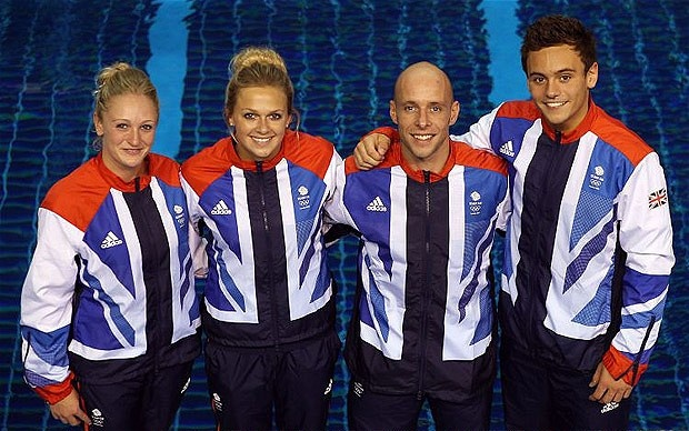 Diving: Team GB Synchronised Diving Team