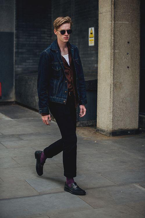Street Style à La Fashion Week Homme Printemps été 2019 De Londres