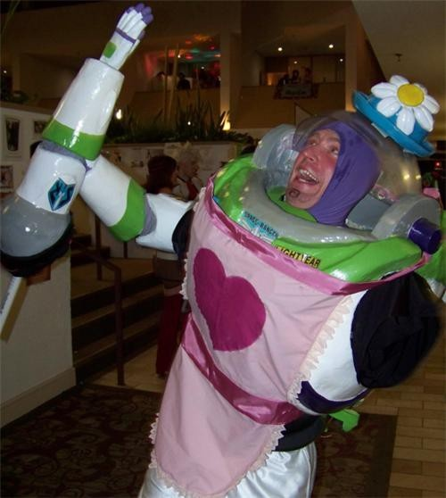 Why just be Buzz lightyear when you can be THIS buzzlightyear