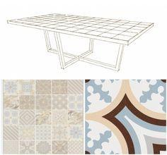 Diseño a medida para una mesa de terraza
