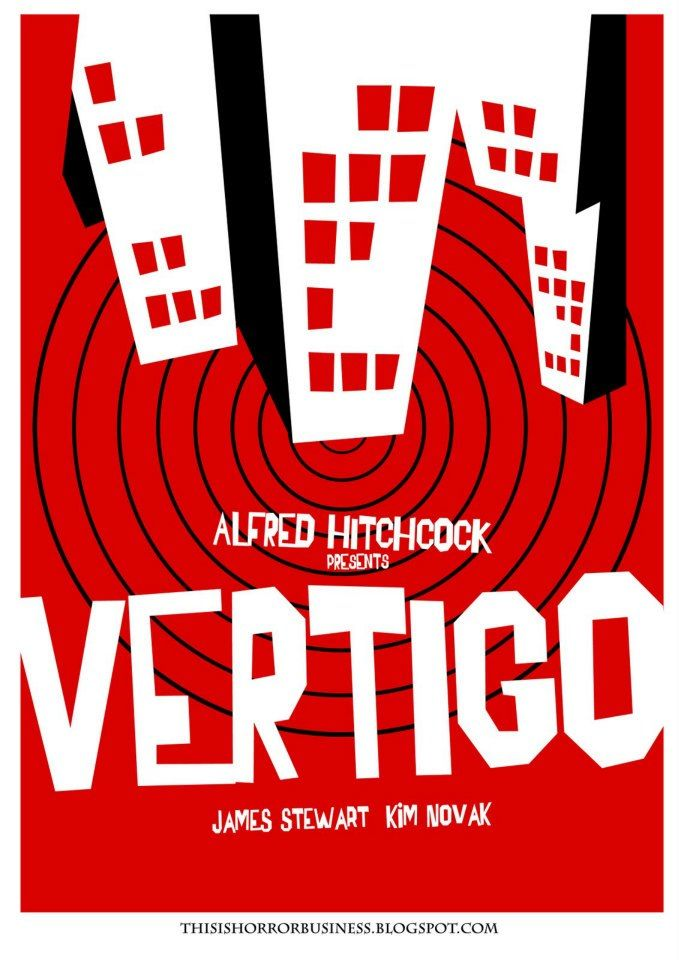 Saul Bass - Vertigo by Alfred Hitchkock