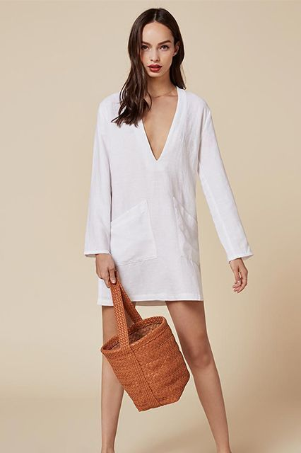 Drop Everything: Reformation's Summer Sale Is Here #refinery29  http://www.refinery29.com/2016/08/119320/reformation-clothing-summer-sale-2016#slide-3  Is it weird if we wear this every day for the rest of the season?Reformation Caftan Dress, $189 $125, available at Reformation....