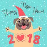 happy-new-year-card-funny-pug-congratulates-holiday-dog-chinese-zodiac-symbol-vector-illustration-95537700.jpg 160×160 pixels