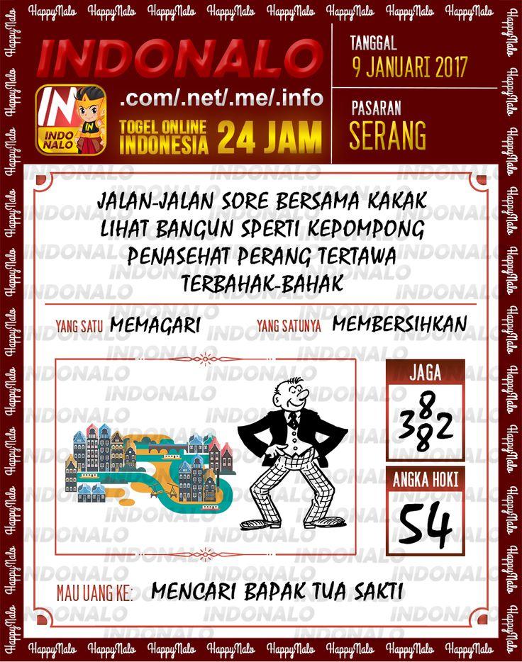 Kode Jaga 6D Togel Wap Online Live Draw 4D Indonalo Serang 9 Januari 2017