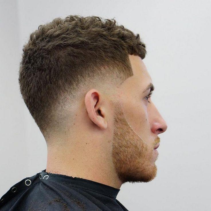 kurzhaarfrisuren männer lockige haare übergang #hairstyles #hair