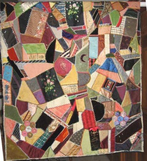 Crazy Quilt Pattern Images : 17 Best images about Crazy Quilts on Pinterest Stitches, Quilt pillow and Crazy quilt patterns