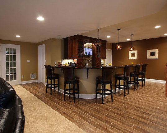 Best 25 finished basement bars ideas on pinterest for Finished basement designs