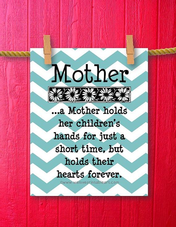 The 11 best quotes for my mommy images on pinterest amazing gifts diy mothers day gift simply download and save you can print from solutioingenieria Image collections
