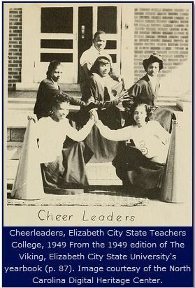 3b15172361e4a1eb12162752f503a026-teachers-college-college-life 12 African-American Cheerleading Images from the Past