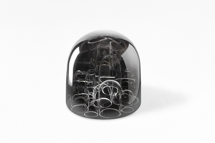 "Nendo 玻璃製品設計 – ""still & sparkling"" 展覽在米蘭家具展 | ㄇㄞˋ點子靈感創意誌"