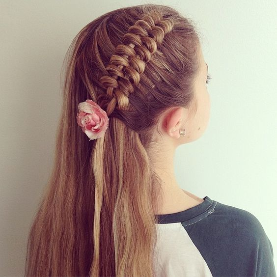 """Dutch infinity braid on @holly_pedlar for #30DaysNewBraids #30DNBDay10 #mb570kcontest"" Photo taken by @hairstyles_by_shannon on Instagram, pinned via the InstaPin iOS App! http://www.instapinapp.com (06/11/2015)"