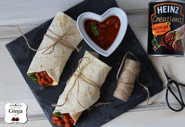As várias faces da Ginja: Wraps Mexican Beanz com carne picada