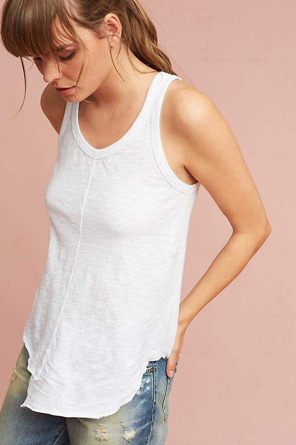 Shirttailed Tank Top /