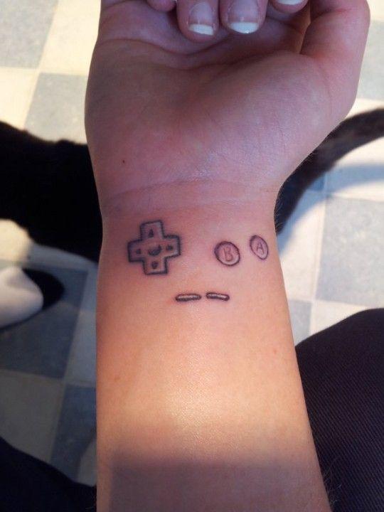 nintendo ds tattoo - Google zoeken