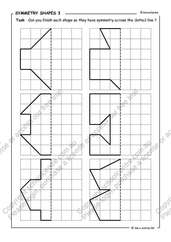Symmetry Worksheets 4th Grade Symmetry Worksheets Symmetry Activities Symmetry