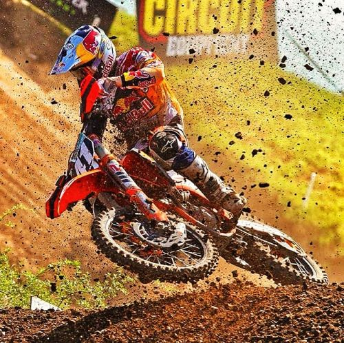 Motocross is a contact sport, see you in the first corner.