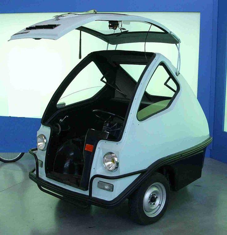 1972 Teilhol Citadine (electric cart with 48VDC motor) 3-Wheel Micro Car (France)