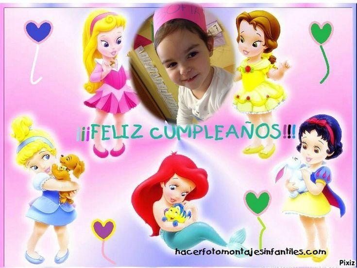 Resultado del montaje fotografico : Princesas Babys - Pixiz