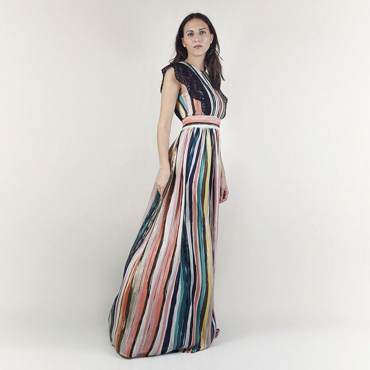 Isbet striped dress