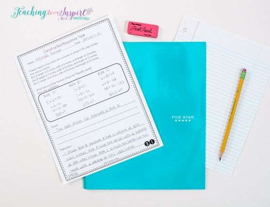 Getting students to write in math is much easier when you use constructed response math tasks on a regular basis. Read this post to learn more and read about nine other ways to get your students writing in math class.