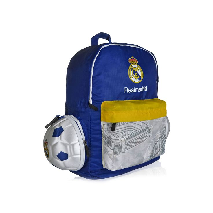 Real Madrid CF Soccer Ball Backpack, Multicolor