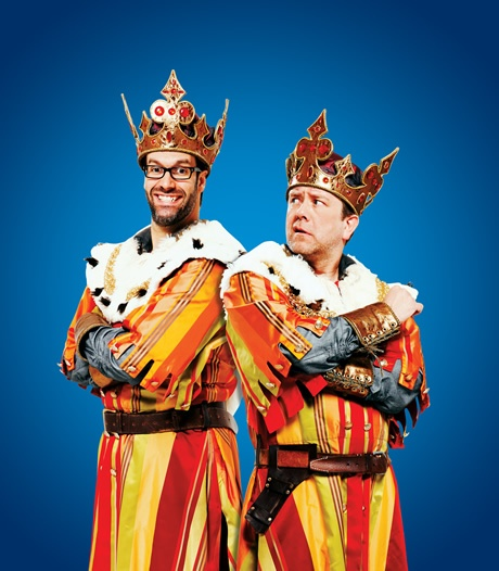 Marcus Brigstocke and Jon Culshaw will share the role of King Arthur for the 2012 West End run at the Harold Pinter Theatre.