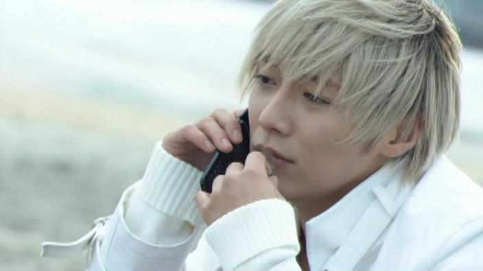 Narimiya Hiroki (成宮 寛貴) as Kanzaki Jun / BlondeJ from the show Bloody Monday 2. #JDrama