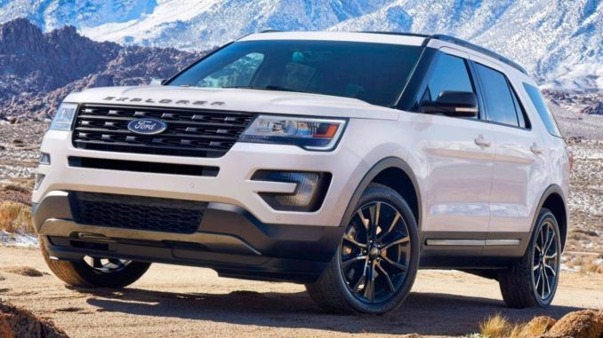 2019 Ford Explorer Sports Car Gallery