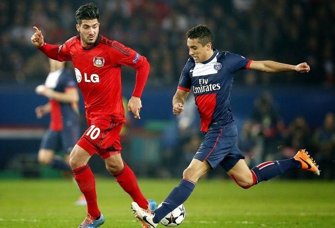 Blog Esportivo do Suiço:  Liga dos Campeões - Oitavas de Final: PSG volta a vencer o Leverkusen e avança