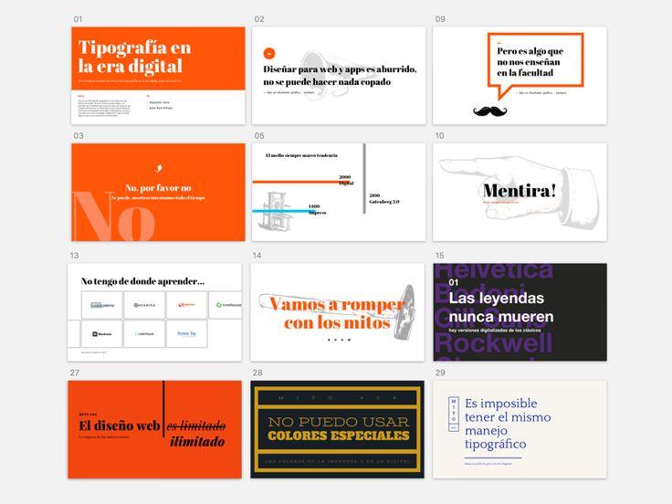 Presentations slides