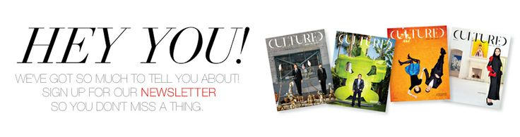 HEY YOU! Love it!! www.culturedmag.com