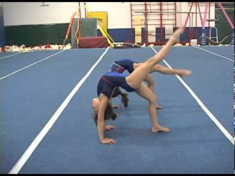 Floor Gymnastics Moves