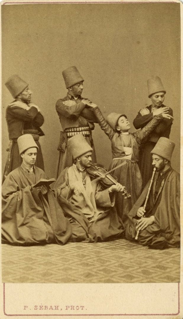 Sebah, Pascal - A group of dervishes