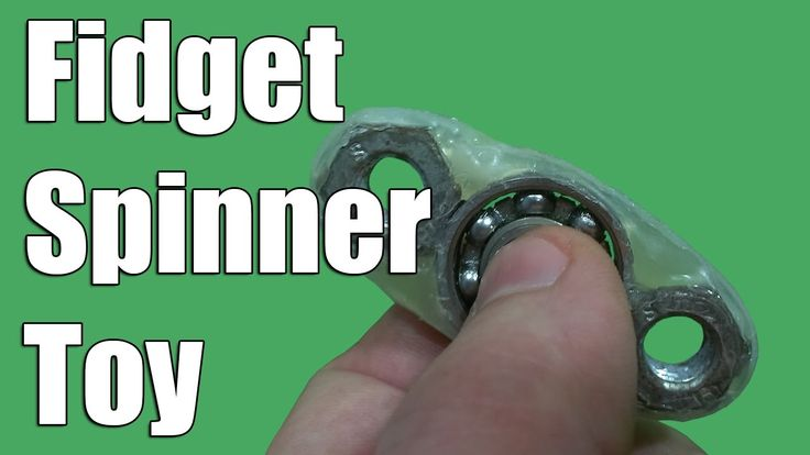 How to Make a Hand Spinner - Fidget Toy - easy way