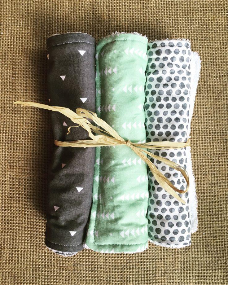 Gender Neutral Burp Cloths by SamanthaLeeandCo on Etsy https://www.etsy.com/listing/457957164/gender-neutral-burp-cloths