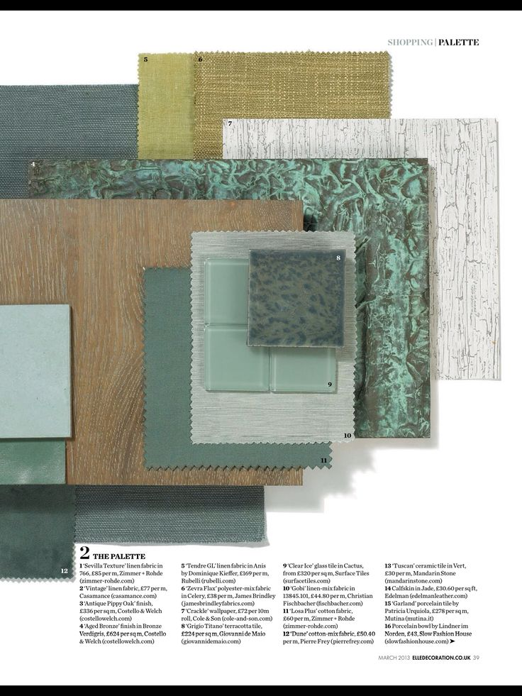 Top 25 Ideas About Material Board On Pinterest