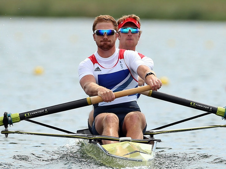 George Nash and Will Satch also claimed bronze in the men's pair.