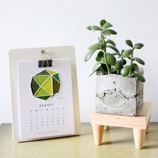 Give your plant a little lift with this Mid-Century Modern stand! Would you guess a picture frame was used to create this DIY?!