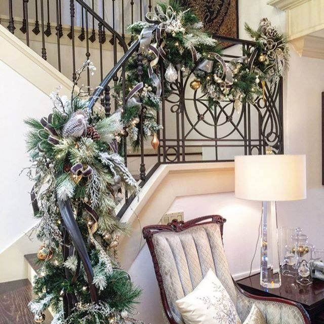 Christmas Stairwell | Rebecca Robeson